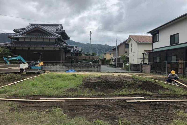 K様邸 (防府市岩畠) 【基礎工事中】