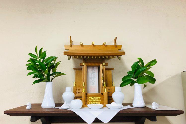 【下関】神棚を新設いたしました。