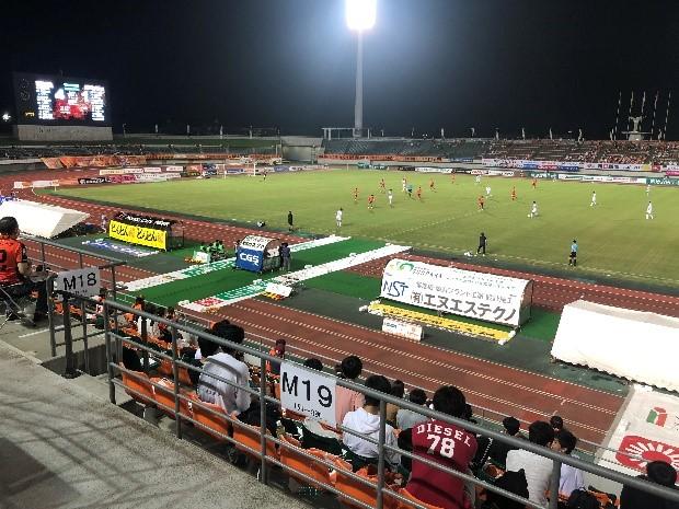 【山口】サッカー観戦