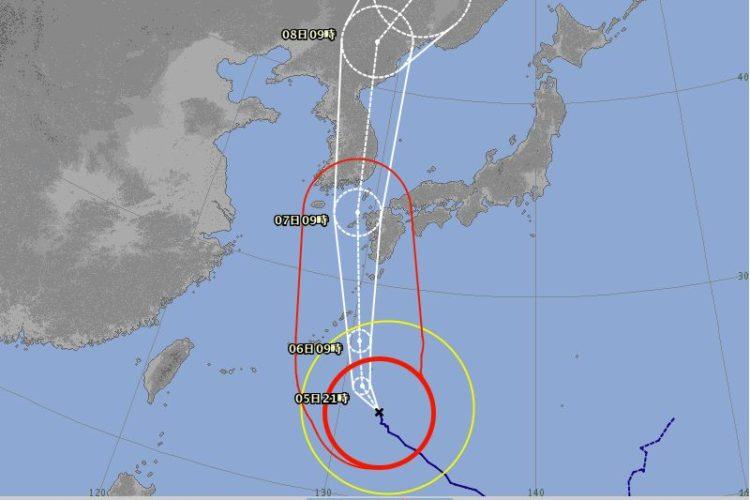 台風10号への備えについて