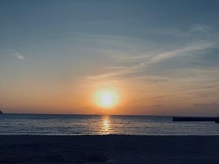 【周南】片添ヶ浜の朝陽