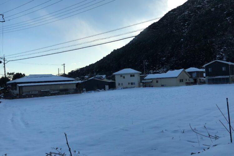 【山口】寒さの中で