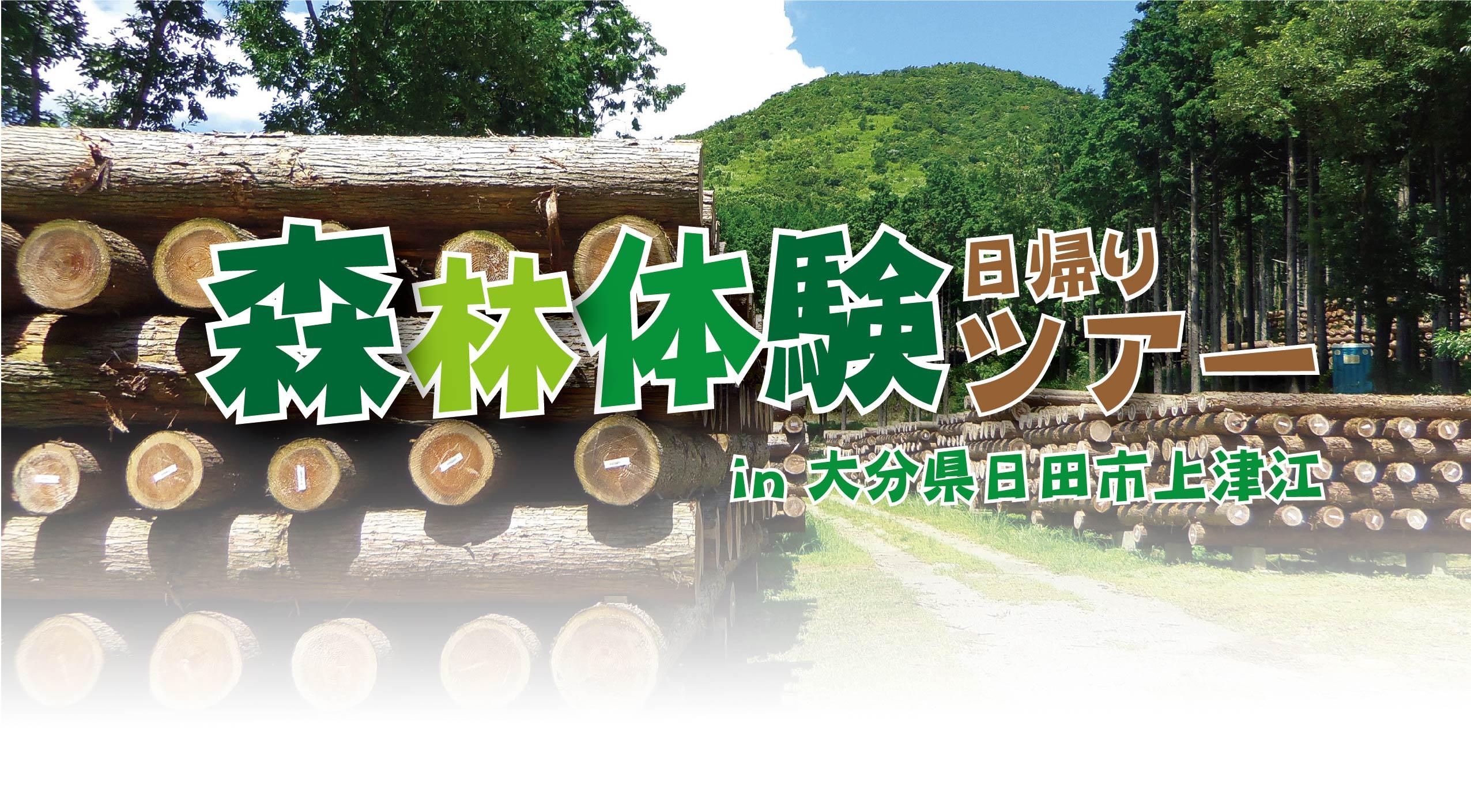 夏休み企画 森林体験ツアー(第2班)@日田市上津江//8/22(日)【開催中止】