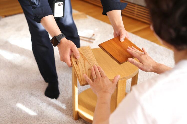 素材選び教室 @下関展示場「木の家づくり展示館」//10/17(日)