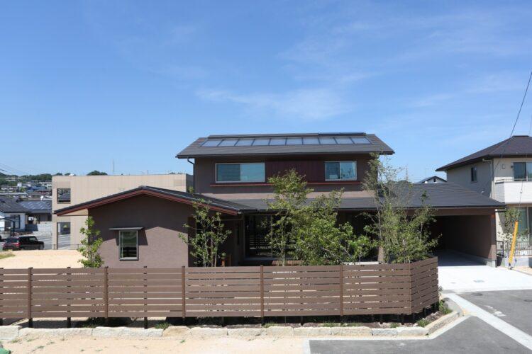 住み心地の良いインナーガレージのある家(山口県宇部市/トラッド)
